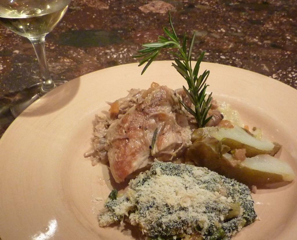 Braised turkey with pears bike tours italy italiaoutdoors food and wine