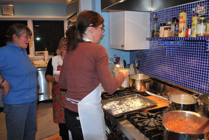 cooking gnocchi bicycle and cooking tours italy