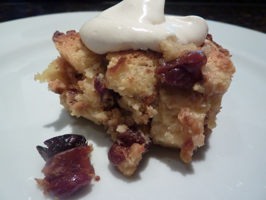Panettone Bread Pudding bike tours italy italiaoutdoors food and wine