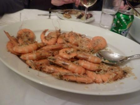 Broiled Shrimp with Bread Crumbs private bike tours italy