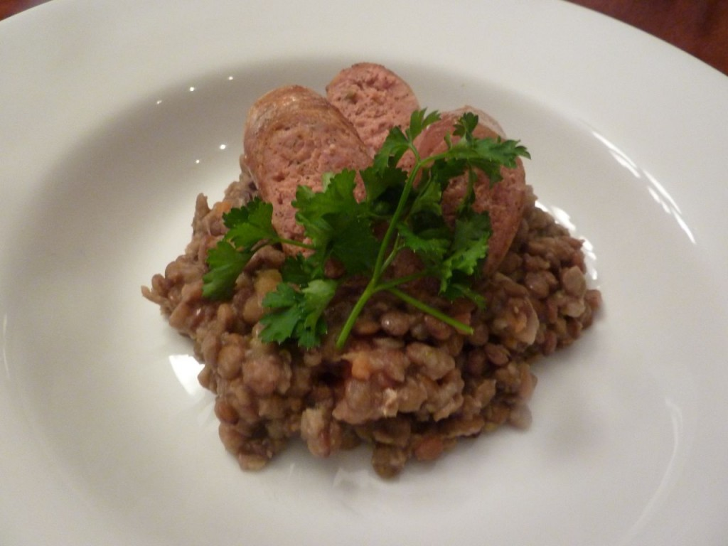 Lentils and sausage culinary bike tours italy italiaoutdoors food and wine