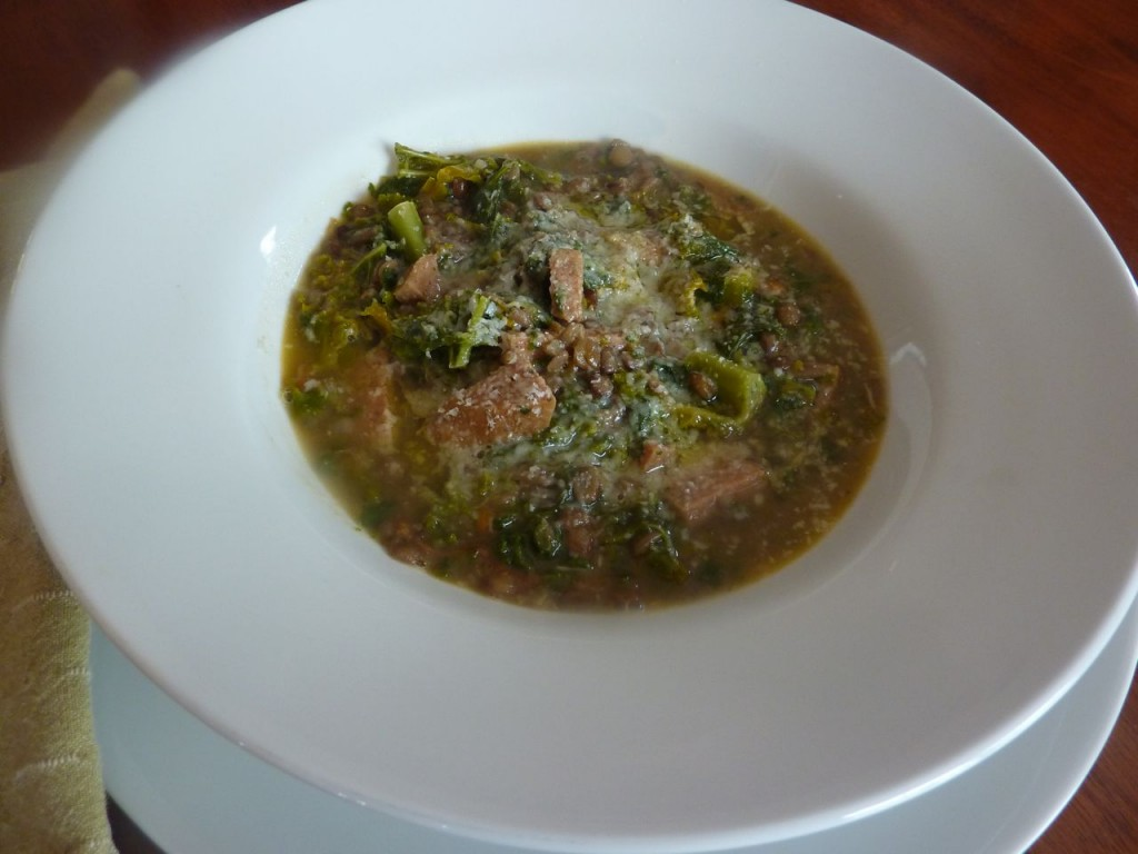 lentil and sausage soup luxury villa rental italy italiaoutdoors food and wine