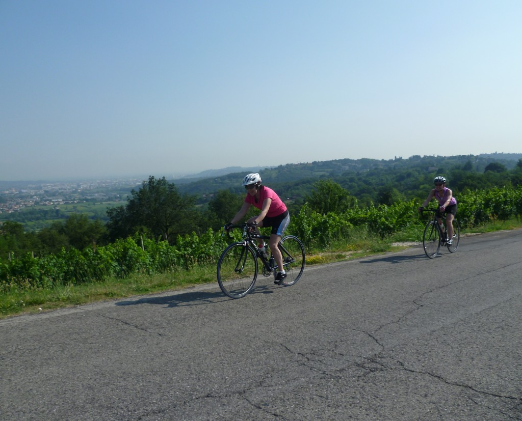 biking to soave bike tours italy