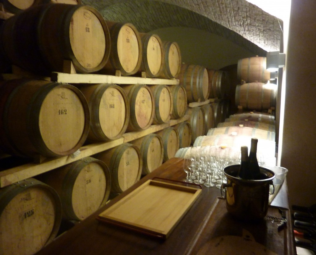 cellar interior cycling holidays dolomites italiaoutdoors food and wine