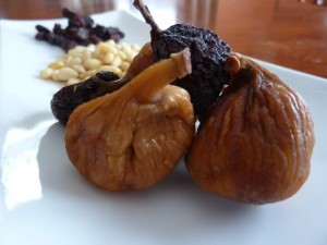 Figs and Raisins for Polenta Torta - Italiaoutdoorsfoodandwine custom cycling holidays italy