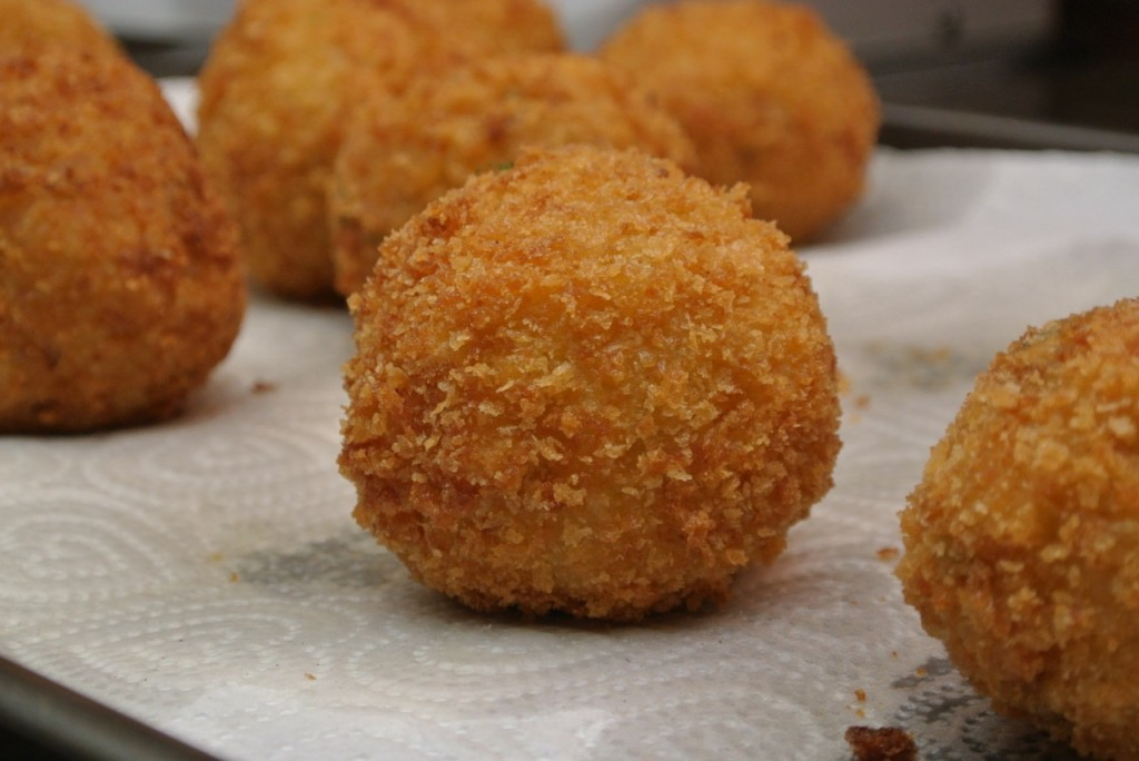 Arancini - Recipes from Italiaoutdoors Food and Wine bike tours italy