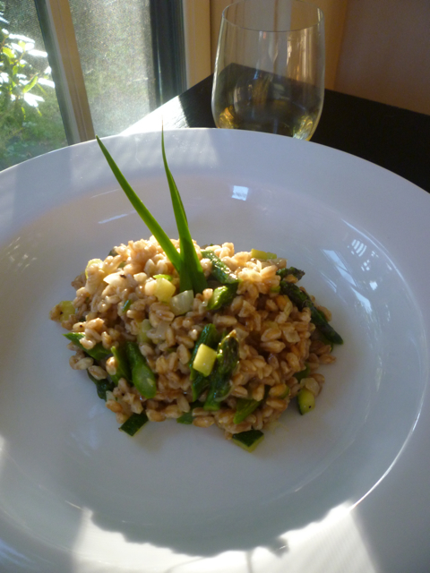 finished insalata di farro luxury bike tours italiaoutdoorsfoodandwine