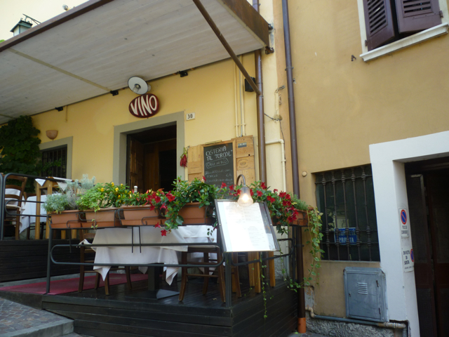 osteria in sirmione bike wine tours italiaoutdoorsfoodandwine