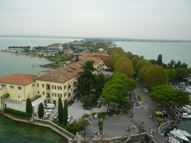 view of peninsula from castle italiaoutdoorsfoodandwine
