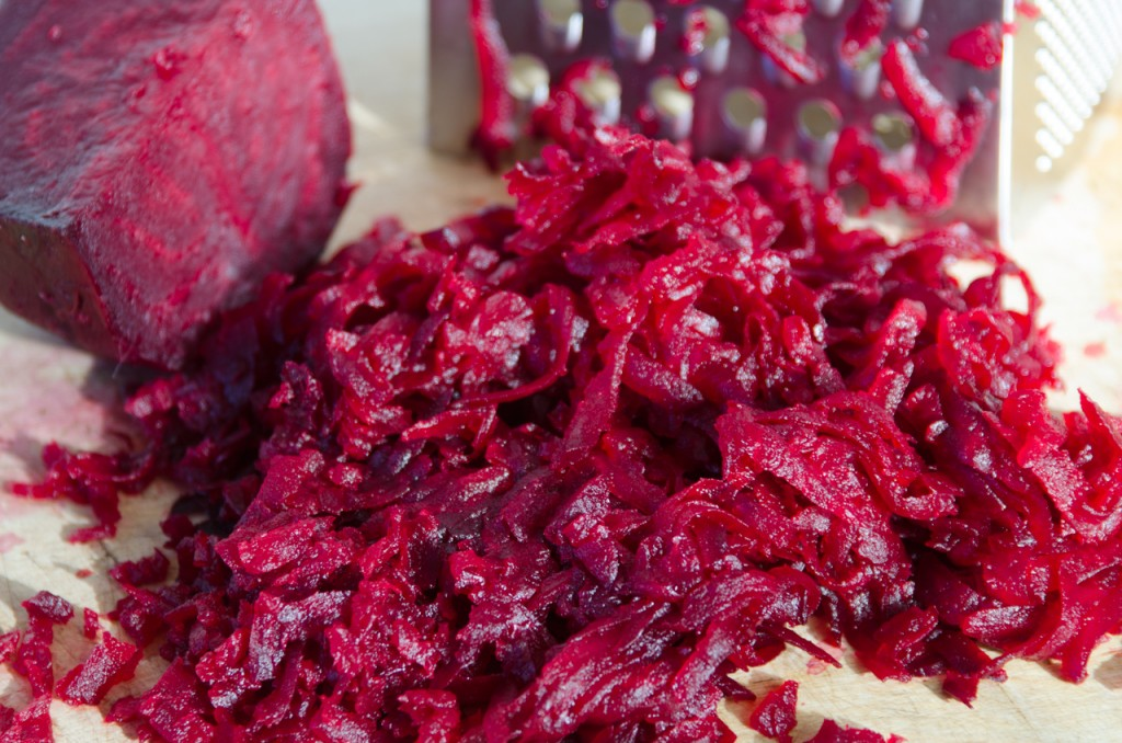 grated beets italiaoutdoors food and wine gourmet bike tours italy