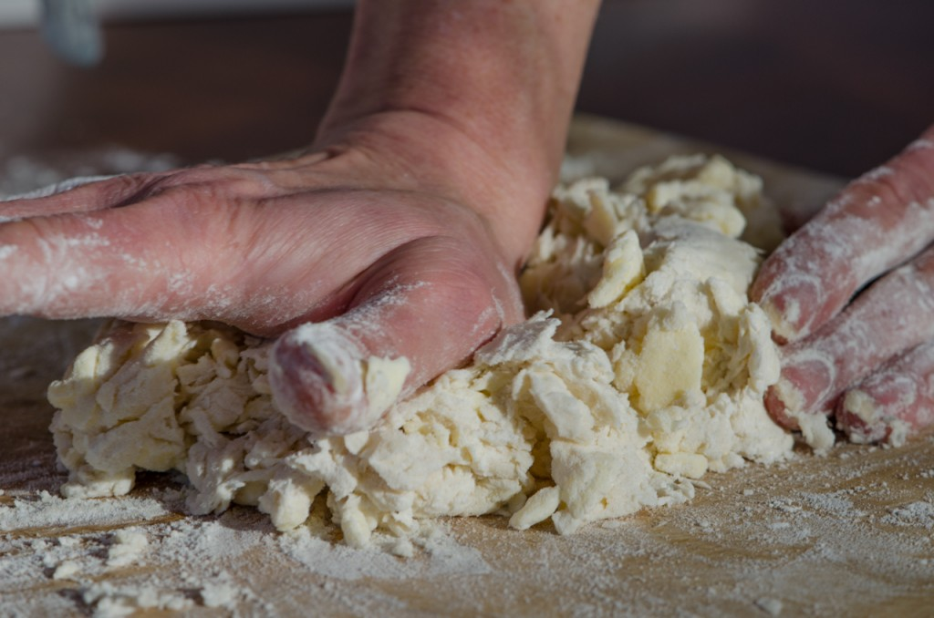pressing dough cycling holidays dolomites italiaoutdoors food and wine