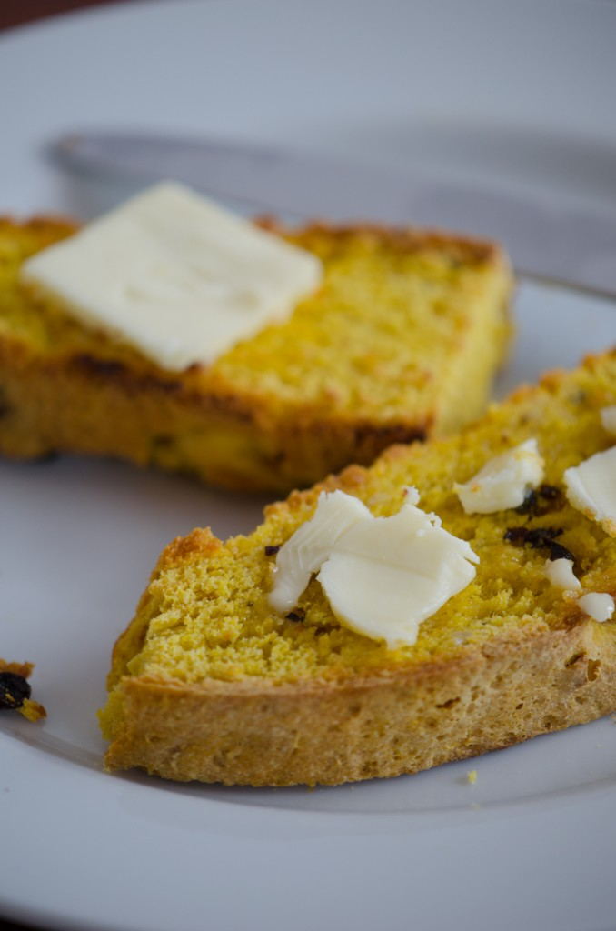 toast pane di zucca cycling tours tuscany italiaoutdoors food and wine