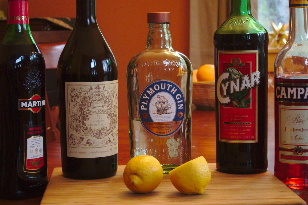 negroni ingredients private bike tours italy italiaoutdoors food and wine