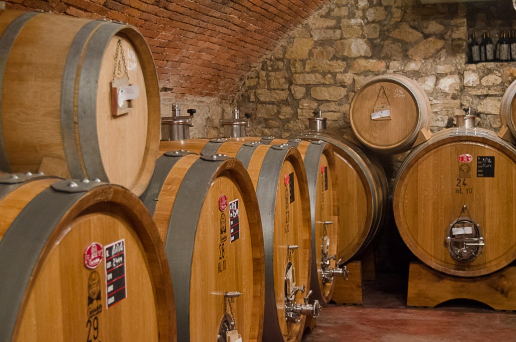 aging barrels amarone wine bike tours italy italiaoutdoors food and wine