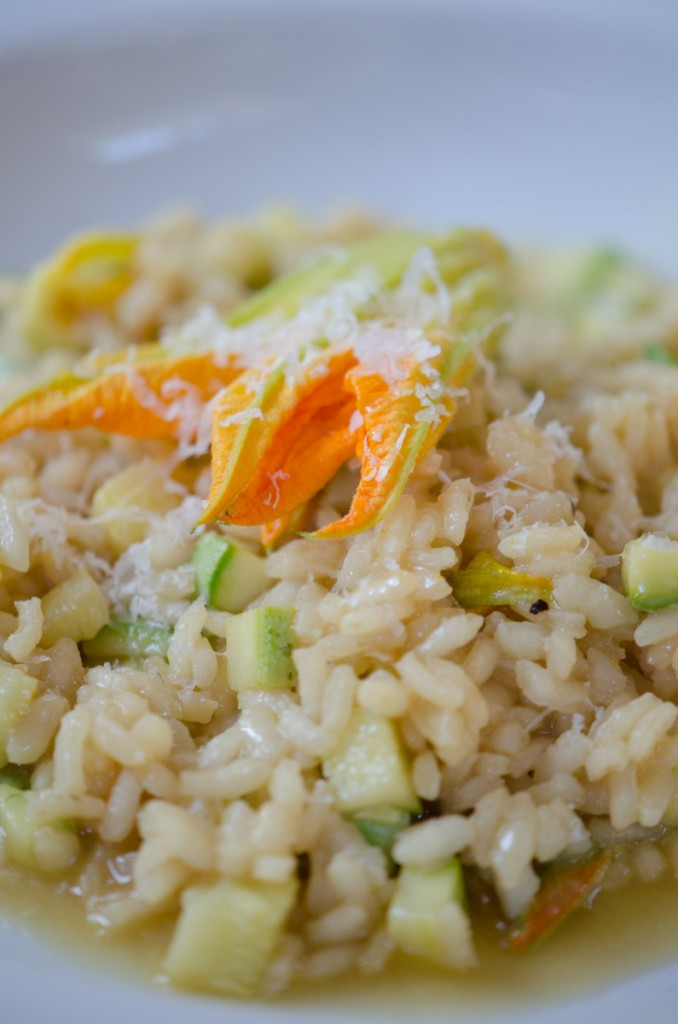 zucchini risotto wine cycling tours italy