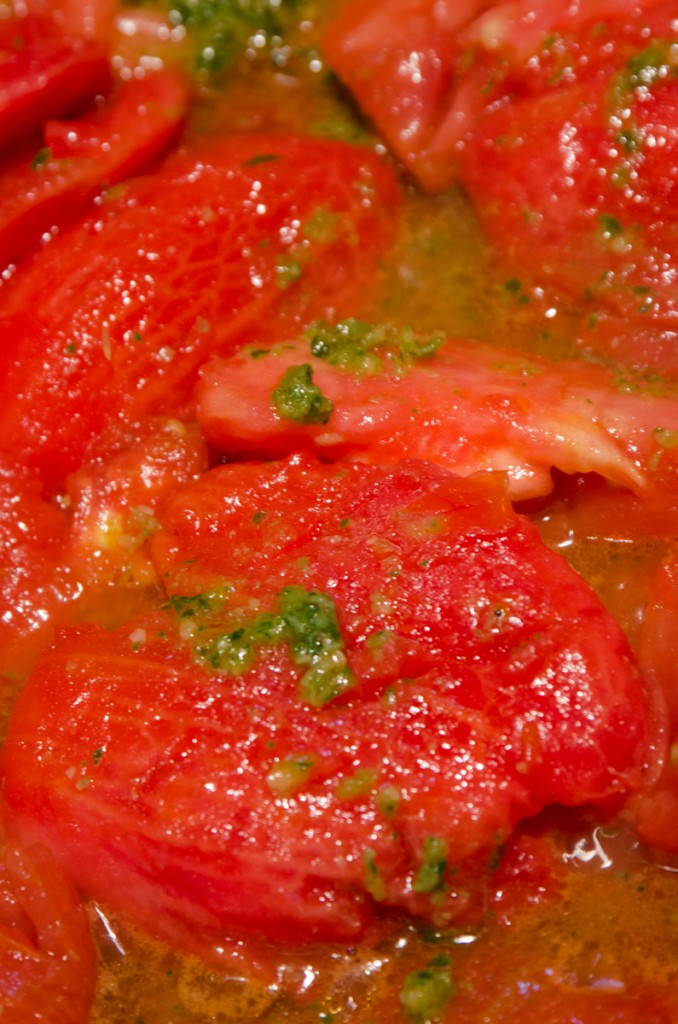 sauteed tomatoes luxury ski holidays dolomites italiaoutdoors food and wine