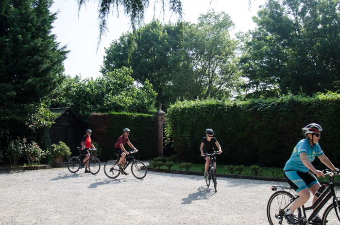 ride montagnana private cycling tours italy