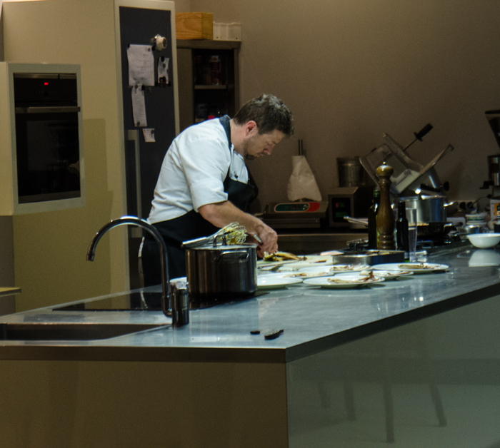 chef michael at work private walking tours italy