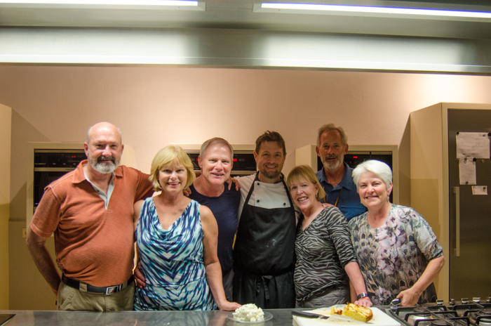 group with chef michael private hiking tours italy
