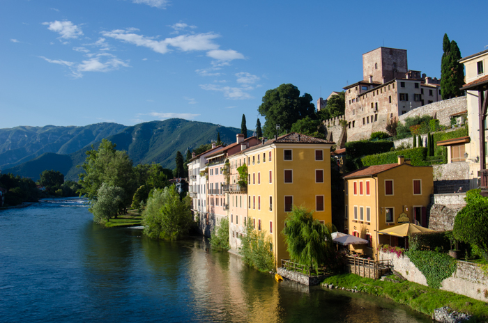 Exploring bassano del grappa from grappa and white for Arredamento bassano del grappa