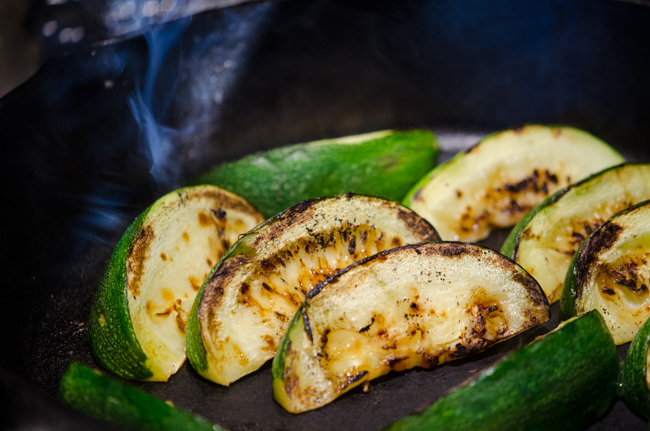 roasting-zucchini-cycling-tours-italy