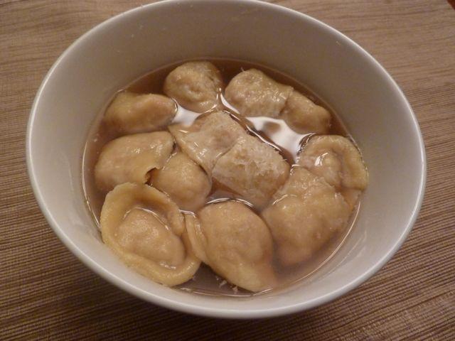 tortellini in brodo - Traditional Italian Christmas Dinner