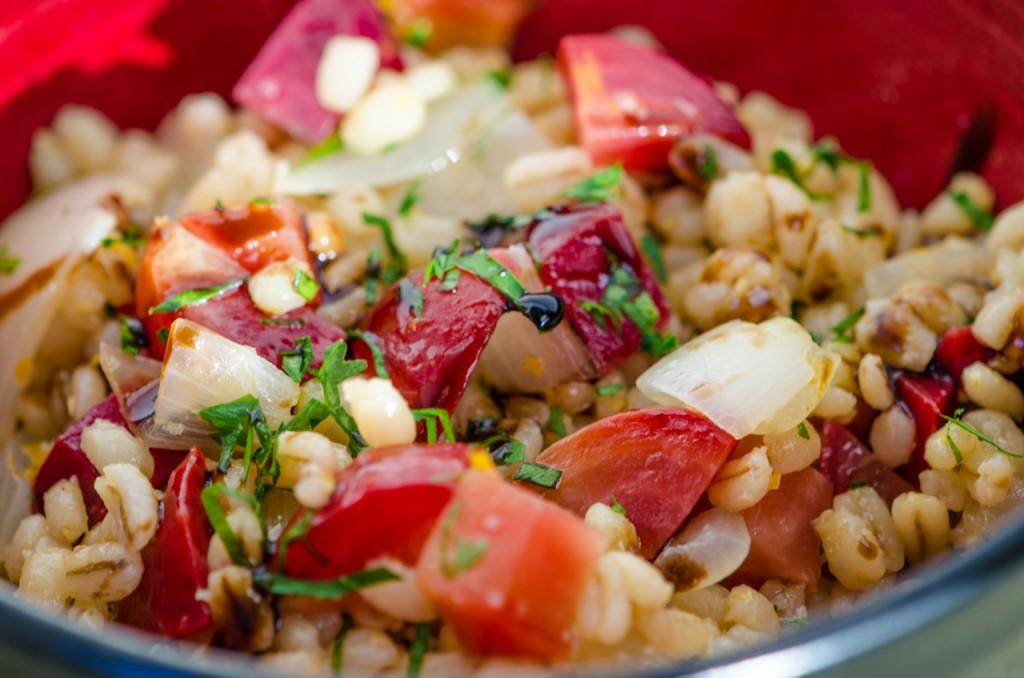 barley salad bike tours tuscany italiaoutdoors food and wine