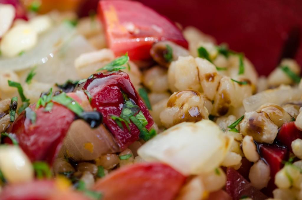 barley salad close bike tours tuscany italiaoutdoors food and wine