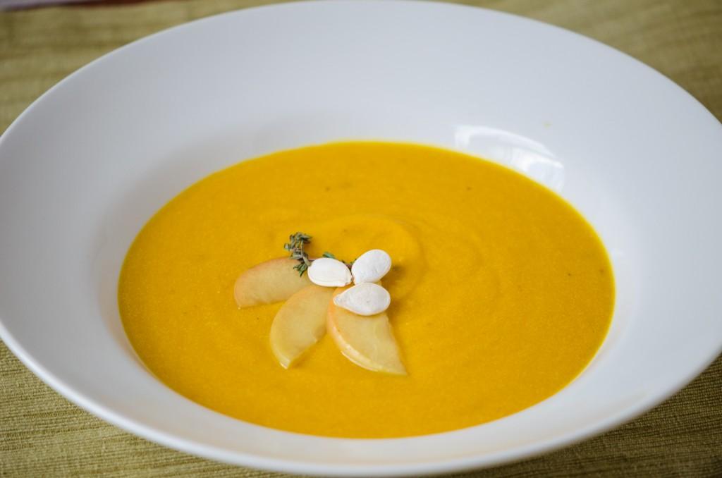 pumpkin soup ski tours dolomites italiaoutdoors food and wine