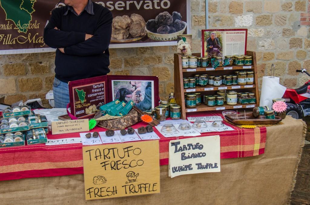 truffles at market bike tours dolomites italiaoutdoors food and wine