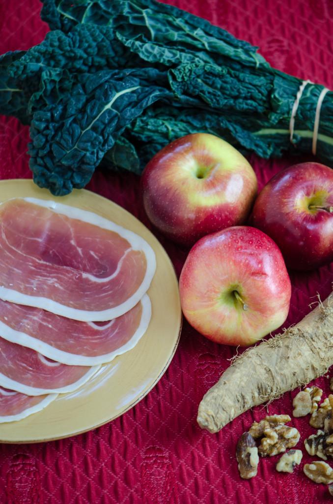 kale apple ingredients bike tours italy