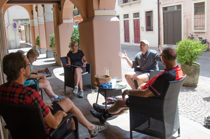 history private cycling tours italy